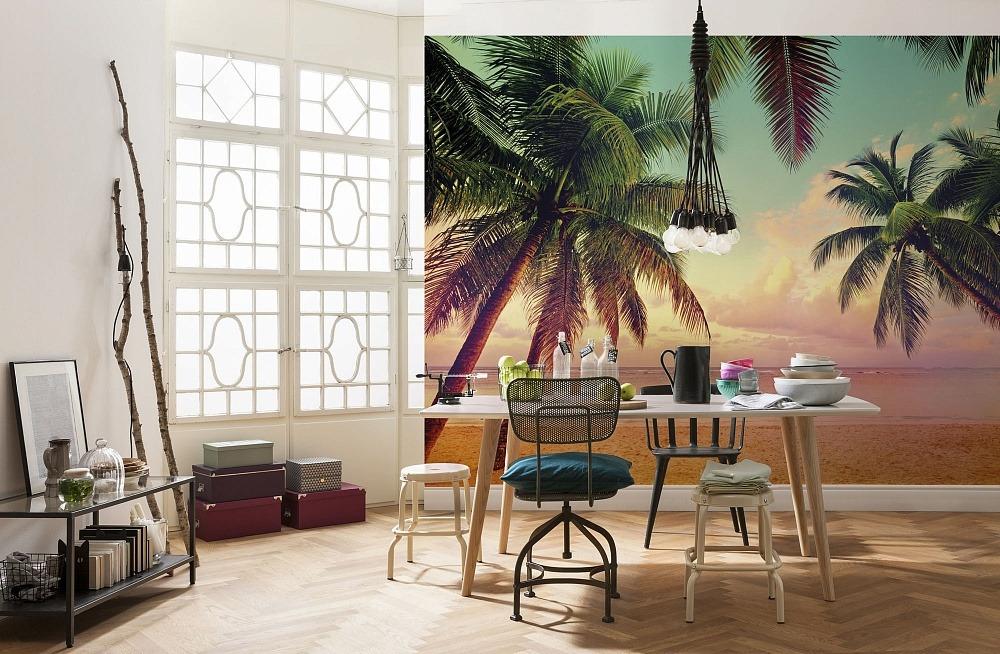 бумажные фотообои для стен печать